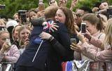 In the Year 2018, We Are All This Young Woman, Sobbing Over a Hug From Prince Harry