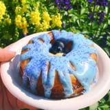 Epcot's Vanilla Blueberry Cronuts Look Like a Treat Straight Out of Alice's Mad Tea Party