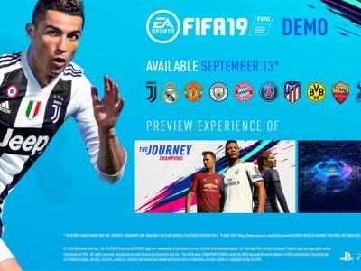 The FIFA 19 demo is live on PlayStation 4 and Xbox One