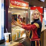 Brie Larson Thanked Fans Captain Marvel Fans in the Best Way - By Serving Them Popcorn