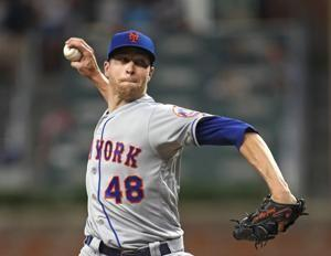 DeGrom, Alonso lead Mets to a 10-2 rout of 1st-place Braves