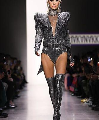 Hakan Akkaya's Glam Rock Collection - NYFW Fall/Winter 2019