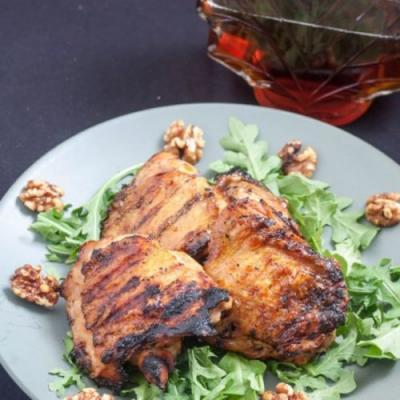 Maple & Apple Cider Glazed Chicken