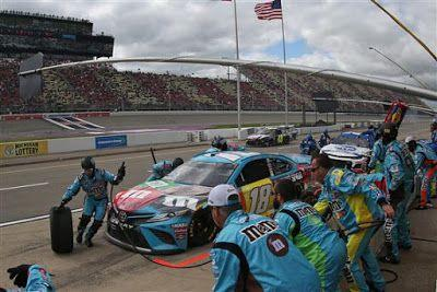 Kyle Busch is 5/1 co-favorite to win 2019 Consumers Energy 400