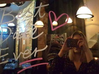 I had Valentine's Day dinner with my reflection in the name of self-love, and it made me realize how important it is