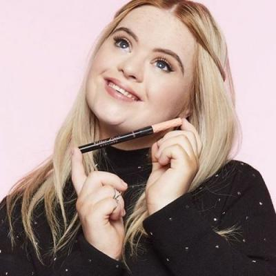 Benefit Cosmetics' New Roller Liner Campaign Stars A Model With Down Syndrome