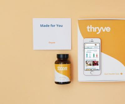 Start-up Thryve offers personalized probiotic subscriptions to customers based on their health goals and microbiome