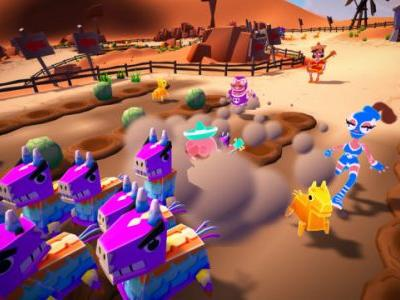 Must Dash Amigos Available Now on Nintendo Switch