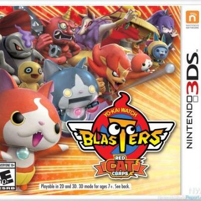 Yo-Kai Watch Blasters To Bust Up 3DS September 7