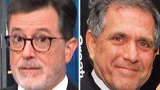 Stephen Colbert Is 'Not Surprised' By Former Boss Les Moonves' Exit From CBS