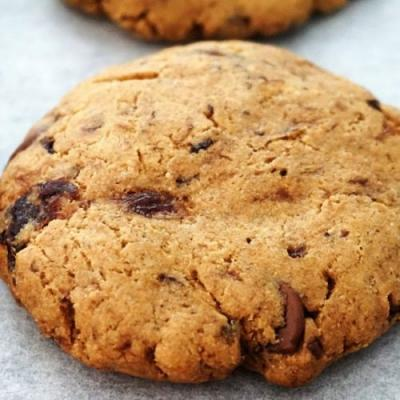 Dried Plums Chocolate Chip Cookies