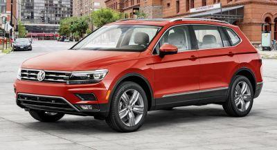 2018 VW Tiguan First To Feature New 2.0LT TSI Engine