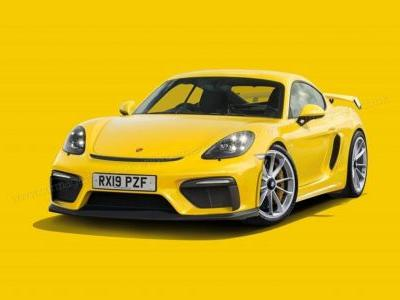 New Porsche 718 Cayman GT4 Allegedly Coming With 420 HP