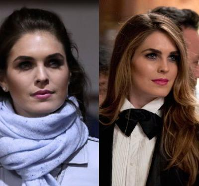 Hope Hicks went from mimicking Ivanka Trump's style to ripping off Melania Trump's - and it could reveal a building drama inside the White House