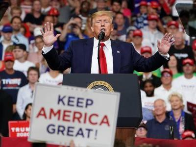 On day one of his 2020 campaign, Trump promised to cure cancer, wipe out AIDS, and put an American on Mars