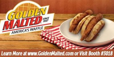 Golden Malted, the World's Largest Distributor of Waffle Mix and Irons since 1937, will be debuting new Frozen Waffles & More in Booth 3018 at the 2017 NRA Show