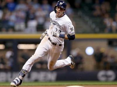 Christian Yelich becomes first player ever to hit for cycle twice against the same team in one season