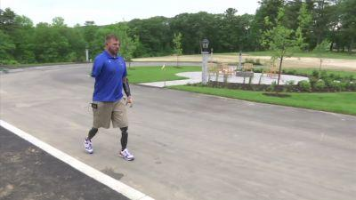 Soldier who lost 4 limbs opening camp for vets