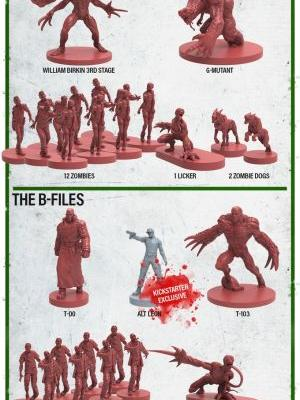 Steamforged Launches Resident Evil 2 Board Game Kickstarter