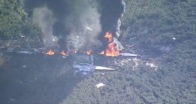 At Least 16 Dead in Marine Aircraft Crash in Mississippi