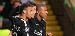 'MCN' star as PSG rout Celtic