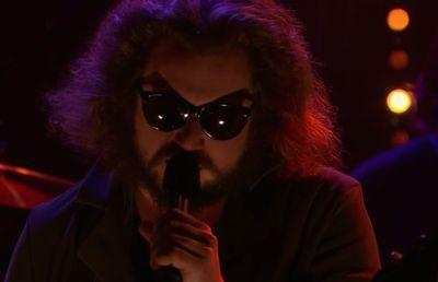 "Watch Jim James Sing ""The World's Smiling Now"" On James Corden"