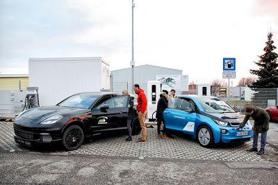BMW unveil ultra-fast 450 Kw EV charging station