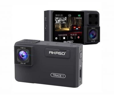 Akaso Trace 1 Dash Cam review: Nice features, nice front and interior video