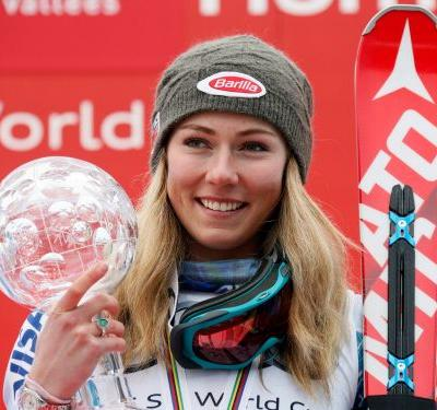 Olympian Mikaela Shiffrin, the top slalom skier in the world, is insanely dedicated to napping - and it could be why she's so successful