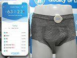 New 'smart diaper' for adults shown at CES will monitor body temperature, stool, and urine