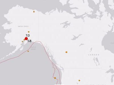 Widespread damage after strong earthquake strikes Anchorage, Alaska; Tsunami Warning issued