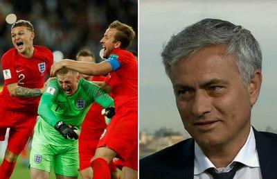 'England have a golden chance to be in the World Cup final' - Mourinho