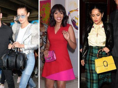 Celebs Go Abroad with Bags from Givenchy, Gucci, & Chanel