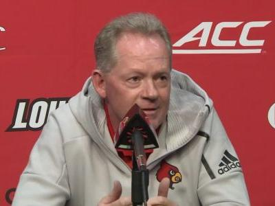 Bobby Petrino fired as Louisville football coach following 7-game losing streak