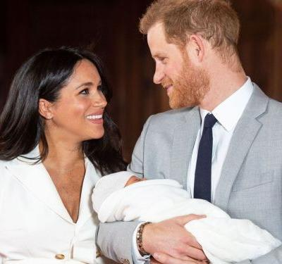 Everyone Is Talking About Meghan Markle's Manicure In The Baby Sussex Photos