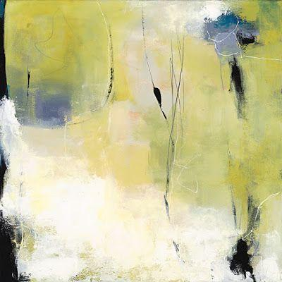 """Abstract Art, Expressionism, Contemporary Painting """"Good Morning Sunshine"""" by Contemporary Artist Maggie Demarco"""