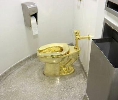 New York museum offered used, solid-gold toilet to Trumps