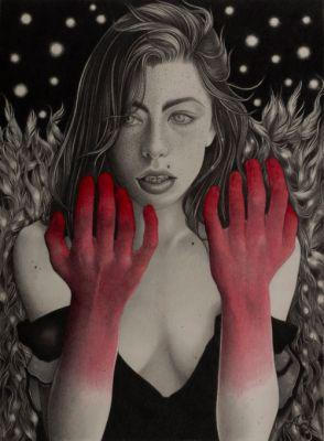 Dark and Romantic Drawings by Alessia Iannetti AlessiaIannetti