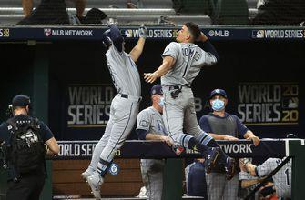 Brandon Lowe, Joey Wendle add 3 RBI apiece as Rays strike back against Dodgers in Game 2 of World Series