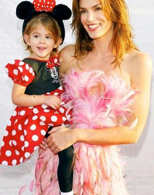 Kaia Gerber Wore the Most Adorable Halloween Costume in 2003