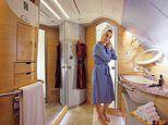 Emirates' A380 first-class shower spa experience resumes - and the bar is open again too
