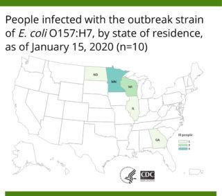 CDC says U.S. portion of Fresh Express outbreak is over; 5 states impacted