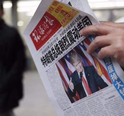 We asked people on the streets of Beijing what they think about Trump