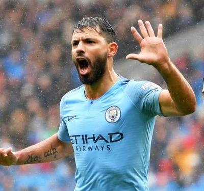 Cardiff City 0 Manchester City 5: Aguero celebrates new deal with goal in 300th game