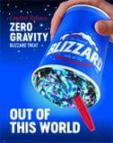 Dairy Queen's New Out-of-This-World Galaxy Blizzard Is a Blue Cosmic Dream Come True
