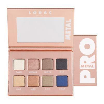 LORAC Rose Gold PRO Metal Palette & Happy Hour Hues Lip Gloss Set for Holiday 2016