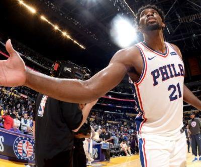 How Joel Embiid stole show from Lonzo Ball and Ben Simmons