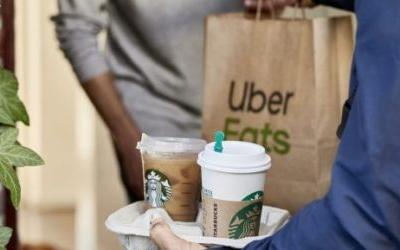 Uber Eats is expanding Starbucks deliveries beyond Miami to 6 more U.S. cities