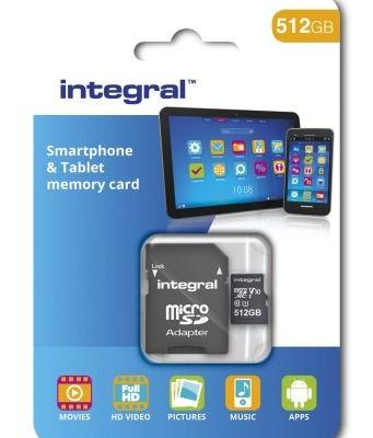 Integral Memory To Release A 512GB MicroSD Card Next Month