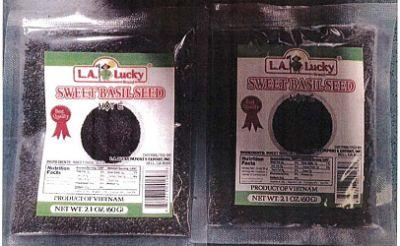 Basil seeds from Vietnam recalled because of Salmonella risk